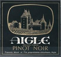 Etiquette De Vin Du Canton De Vaud  * Aigle - Pinot Noir  * - Etiquettes