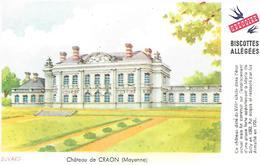 Biscottes GREGOIRE  -  Château De Craon  ( Format = 15cm X 9,5cm ) - Zwieback