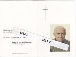 DP+foto E.H. Emile DE MULDER 1920 Ronse 2007 (Ronse, Zeveren-Deinze, Appelterre, Maarke - Religion & Esotericism