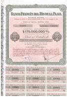 Titre Ancien -Banco Frances Del Rio De La Plata Sociedad Anonima  - Titulo De 1960 - N°230961 - Banque & Assurance