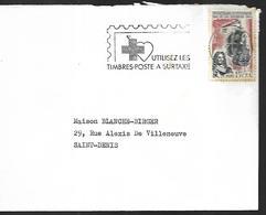 Réunion   Lettre Du  06  12 1968   Saint Denis - Reunion Island (1852-1975)