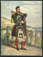 1958 Seaforth Highlanders Christmas Card. Scotland Military Army - Documents