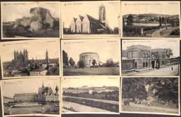 Tournai- Belle Sélection 16 Cartes  (Phono Photo, Fortifications, Square De La Reine, Caserne Des Chasseurs...) - Doornik