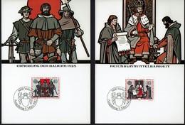 Liechtenstein 1982 - Europa CEPT - Historische Ereignisse - MiNr 791-792 MK - Europa-CEPT