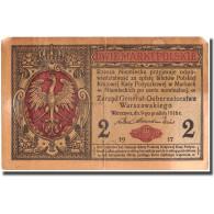 Billet, Pologne, 2 Marki, 1917, 1917, KM:3, TB+ - Pologne