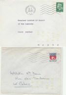 Automation : Lot De Lettre Avec N° Du Codeur à Sec Sur Une Partie Des Env. - 1961-....