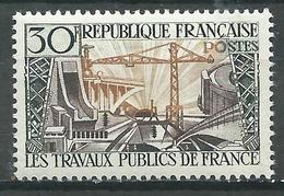 France YT N°1114 Les Travaux Publics De France Neuf ** - France