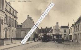 "FURNES-VEURNE "" RUE DE LA PANNE-TRAM A VAPEUR-H.BRUTSAERT"" - Veurne"