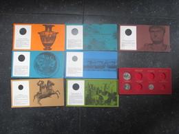 """VP LOT 7 OBJETS PUBLICITAIRES (V1905) LABORATOIRES BELGANA - FOREST (6 Vues) """"Pièce De Monnaies"""" - GLUTHEMATON VANIDENE - Andere"""
