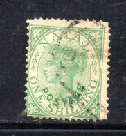 APR276 - NATAL SUD AFRICA  1869 , Yvert N. 26 Usato.  (2380A) . CC - Sud Africa (...-1961)