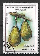MADAGASCAR    -   1992 .   Y&T N° 1058 Oblitéré.   Fruits  /  Avocats - Madagascar (1960-...)