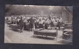Photo Originale  Suisse VD Guerre 14-18 Ecole De Recrues Yverdon Les Bains Grand Nettoyage Du Samedi - VD Vaud