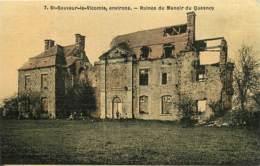 50 , SAINT-SAUVEUR-LE-VICOMTE , Ruines Du Manoir Du Quesnoy , * 415 90 - Saint Sauveur Le Vicomte