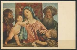 Ansichtskarte - Tizian -  Krischenmadonna - Malerei & Gemälde