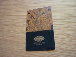 Hong Kong Mandarin Oriental Hotel Room Key Card - Cartes D'hotel