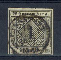 Allemagne - N° 1 - Oblitéré - B/TB - Cote 125 € - Wurtemberg