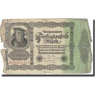 Billet, Allemagne, 50,000 Mark, 1922, 1922-11-19, KM:79, TB - [ 3] 1918-1933 : Repubblica  Di Weimar