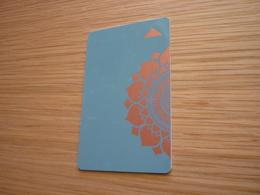 Thailand Bangkok Four Seasons Hotel Room Key Card - Cartes D'hotel