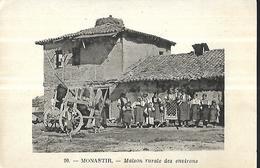 Monastir  ( Macédoine)  Maison Rurale  Des Environs - Macédoine