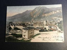 19883) TRENTO VISTA DAL CONVENTO DEI CAPPUCCINI VIAGGIATA 1905 - Trento