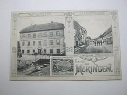 MORINGEN , Gasthof Karl Hartmann, Schöne Karte Um 1908 - Allemagne