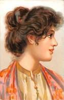 Belle Jolie Femme Italie Folklore Coiffe - Women