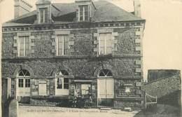 50 , Saint-Quentin-sur-le-Homme , Ecole De Garcons Et Mairie , * 417 69 - France