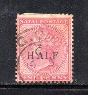 APR280 - NATAL SUD AFRICA  1877 , Yvert N. 39a Usato.  (2380A) . CC - Natal (1857-1909)
