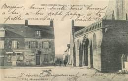 50 , Saint-Quentin-sur-le-Homme , L'église , * 417 75 - France