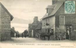 50 , Saint-Quentin-sur-le-Homme , Entrée Du Bourg , * 417 77 - Frankrijk