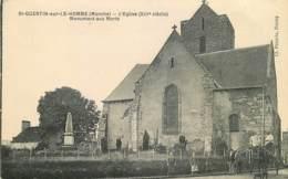 50 , Saint-Quentin-sur-le-Homme , Eglise Monument Aux Morts , * 417 79 - France
