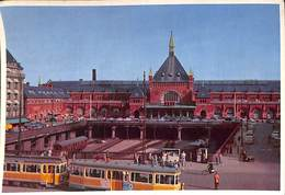 Denmark - Copenhagen - Central Railway Station (tram, Tramway) - Danemark