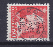 Denmark Perfin Perforé Lochung 'P&A' Petersen & Albeck A/S, København (P05) (2 Scans) - Abarten Und Kuriositäten