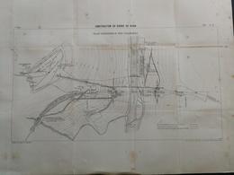 ANNALES PONTS Et CHAUSSEES (DEP12/81= - Contruction Du Viaduc Du Viaur - 1898 - Imp L. Courtier - (CLB24) - Travaux Publics