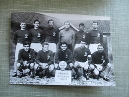 PHOTO EQUIPE DE FOOT FRANCE BULGARIE 1963 - Sport