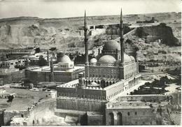 Cairo (Egypt) La Mosquée Mohamed Aly à La Citadelle, Affrancatura Meccanica Rossa - Cairo