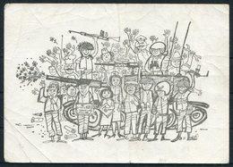 1967/8 Israel Censor Military Postcard + Cover - Israel