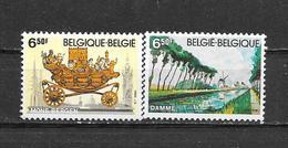 België  1980 Y&T 1976/77 (**) - Belgique