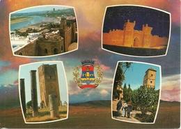 Rabat (Marocco) Panoramics Views And Town's Emblem - Rabat