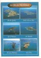 Les Iles Du Morbihan (56) Ile De Groix - Belle Ile En Mer - Ile D'houat - Ile Hoedic - Ile Aux Moines - Ile D'arz - Frankreich