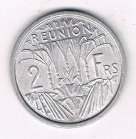 2 FRANCS 1973 (mintage 500000ex.) REUNION /3310/ - Réunion