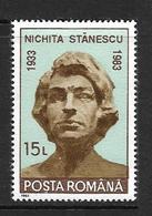 ROUMANIE 1993 NICHITA STANESCU YVERT N°4063  NEUF MNH** - Neufs