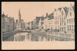BRUGGE  KAART IN ESPERANTO   2 SCANS - Brugge