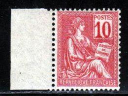 France 1900 Yvert 112 ** TB Bord De Feuille - France