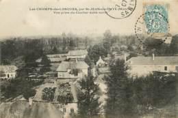 50 , LES-CHAMPS-DE-LOSQUES , Vue Prise Du Clocher , * 420 88 - France
