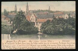 BRUGGE  PANORAMA   2 SCANS - Brugge