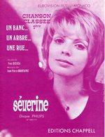 SEVERINE - UN BANC UN ARBRE UNE RUE - MONACO GAGNANT EUROVISION 1971 - ETAT NEUF - - Other