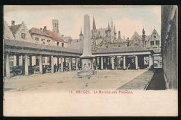BRUGGE  LE MARCHE AUX POISSONS - Brugge