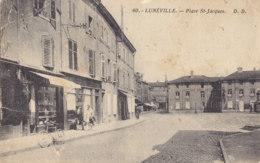 54  Meurthe  Et  Moselle  -  Luneville  -  Place  St  Jacques - Luneville