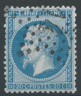 Lot N°47817  N°22, Oblit étoile 14 De PARIS ( R. De Strasbourg ) - 1862 Napoleon III